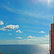 Fort Lauderdale Ocean View Art Print