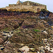 Fort National In Saint Malo Brittany Art Print by Olivier Le Queinec