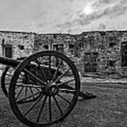 Fort Pike Cannon Art Print