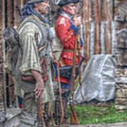 Fort Pitt Sentry's Art Print