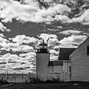Fort Point Lighthouse Art Print