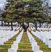 Fort Snelling National Cemetery Art Print