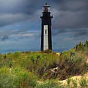 Fort Story Lighthouse Art Print