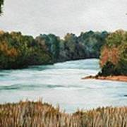 Fort Toulouse Coosa Tallapoosa River Art Print