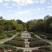 Fort Worth Arboretum Art Print