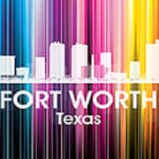 Fort Worth Tx 2 Art Print