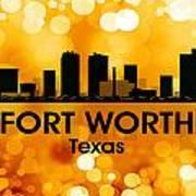Fort Worth Tx 3 Art Print