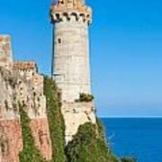 Forte Stella Lighthouse - Portoferraio - Elba Island Art Print