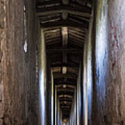 Fortified Covered Walkway Art Print