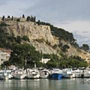 Fortress And Harbor Cassis Art Print