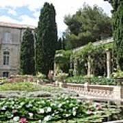 Fortress Garden  Villeneuve Les Avignon Art Print