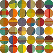 Forty Eight Circles 2.0 Art Print
