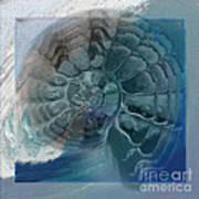 Fossil Ocean Art Print