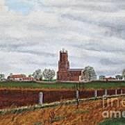 Fotheringhay Art Print