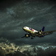 Foul Weather Fedex Art Print