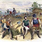 Founding Of St Art Print