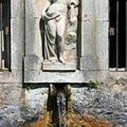 Fountain In A Palace Garden Art Print