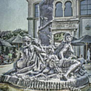 Fountain Of Bacchus Art Print by Jeff Swanson