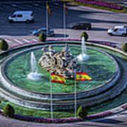 Fountain Of Cebeles II Art Print