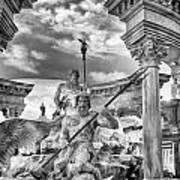 Fountain Of The Gods Art Print