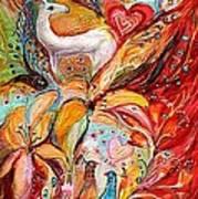 Four Elements Fire Art Print by Elena Kotliarker