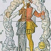 Four Humors Hippocratic Medicine Art Print