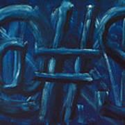 Four Letter Words Art Print