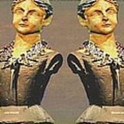 Four Mannequins Two Art Print