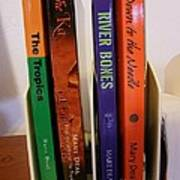 Four Of My Ten Books Published Art Print