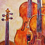 Four Violins Art Print