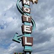 Four Winds Motel Art Print