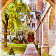 Fourth Presbyterian - A Chicago Sanctuary Art Print by Christine Till