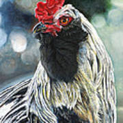 Fowl Martyr Art Print
