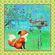 Fox-a Art Print