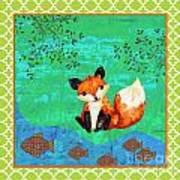 Fox-c Art Print