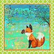 Fox-d Art Print