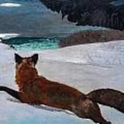 Fox Hunt 1893 Art Print