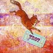 Foxtrot Art Print
