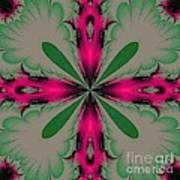 Fractal 002 Art Print