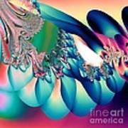 Fractal Abstract 001 Art Print
