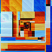 Fractal Abstract11 Art Print