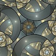 Fractal Art Deco  Art Print