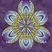 Fractal Blossom Print by Derek Gedney