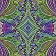 Fractal Cross Art Print