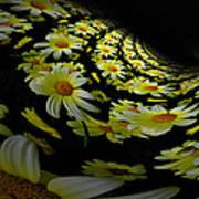 Fractal Daisies Art Print