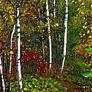 Fractal Forest Art Print