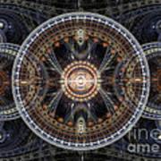 Fractal Inception Art Print by Martin Capek