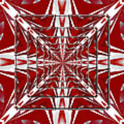 Fractal Reflections Art Print