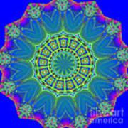 Fractalscope 2 Art Print