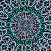 Fractalscope 21 Art Print